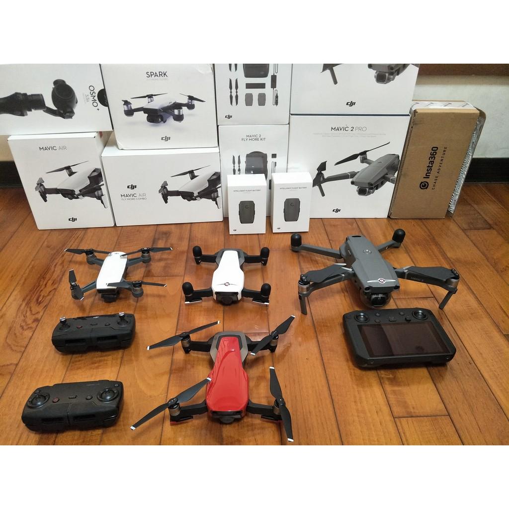 空拍機 線上出租 可租可買  出借押金還機退還 租金可抵 DJI  SPARK AIR  MAVIC 2 ZOOM