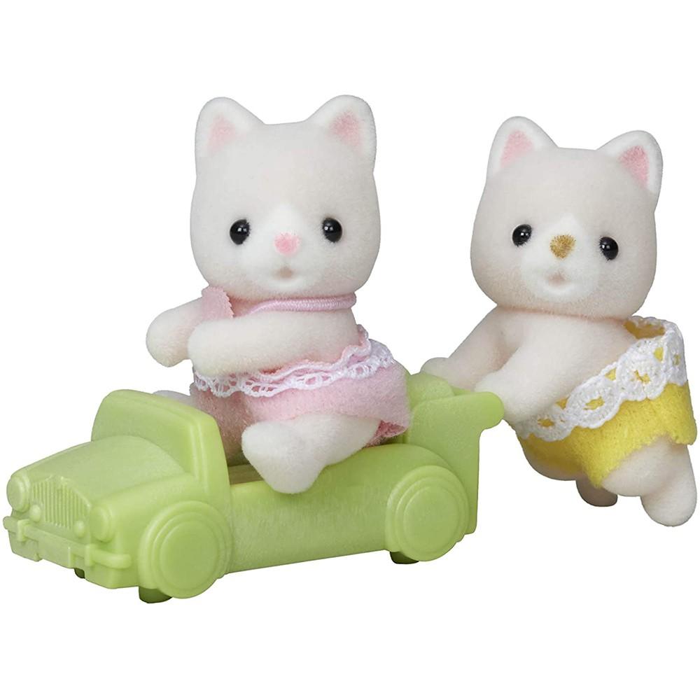 森林家族 牛奶貓雙胞胎