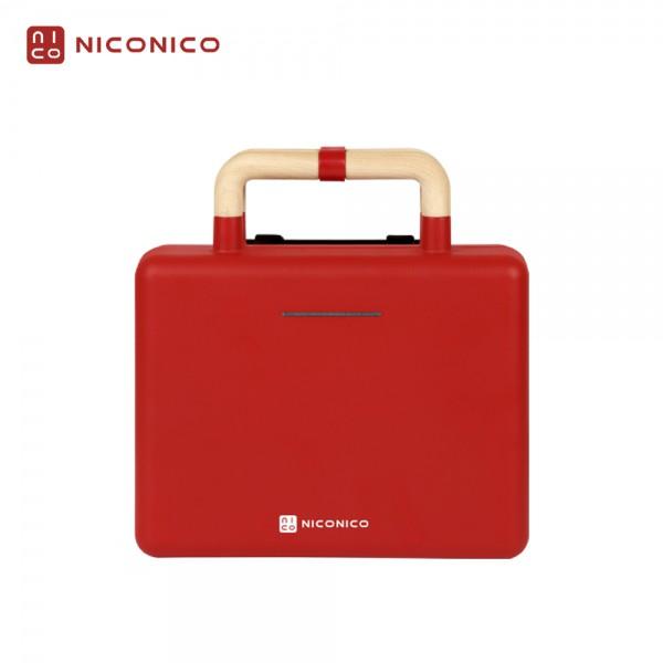 【NICONICO】換片式鬆餅機 NI-T810