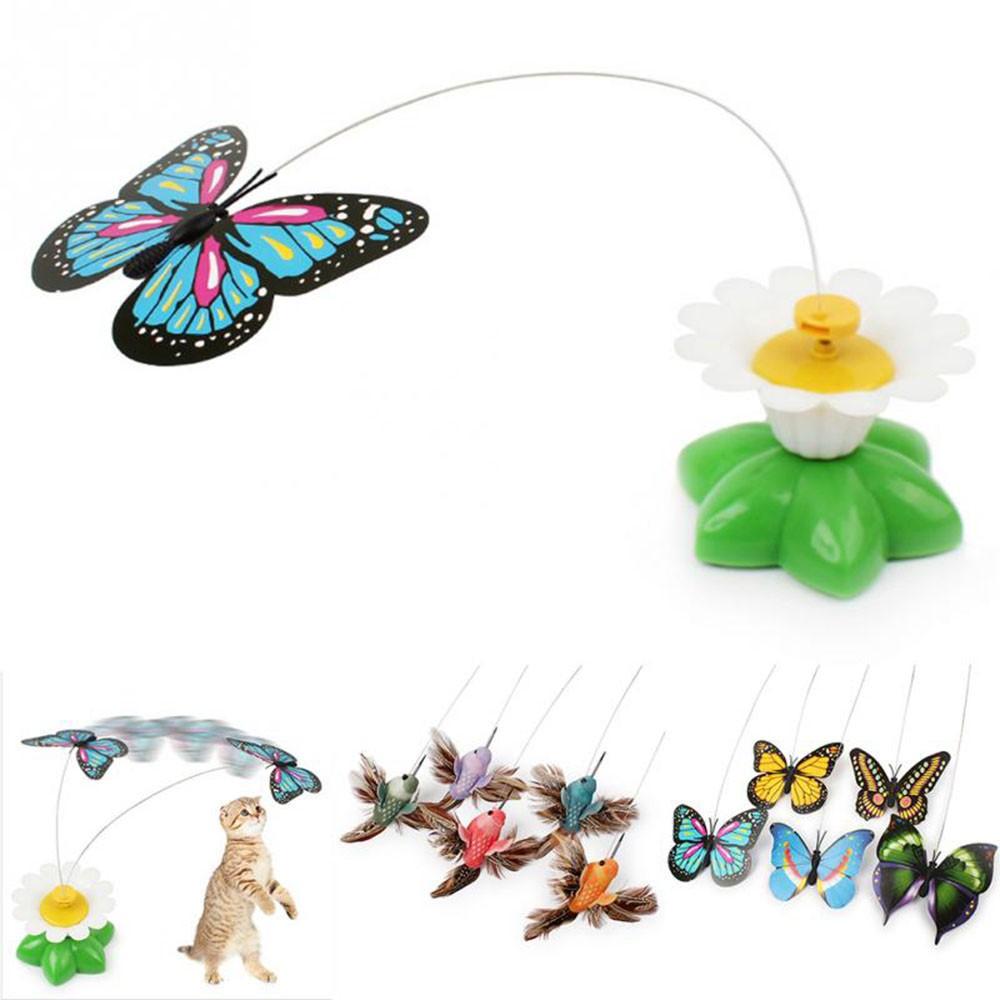 玩具蝴蝶 電動兒童蜂鳥玩具轉圈太陽花蝴蝶 汽車擺件
