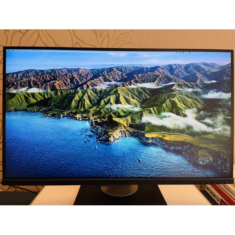 <二手> 9.9成新 ViewSonic VG2755-2K 27吋 IPS螢幕 電腦螢幕 辦公螢幕