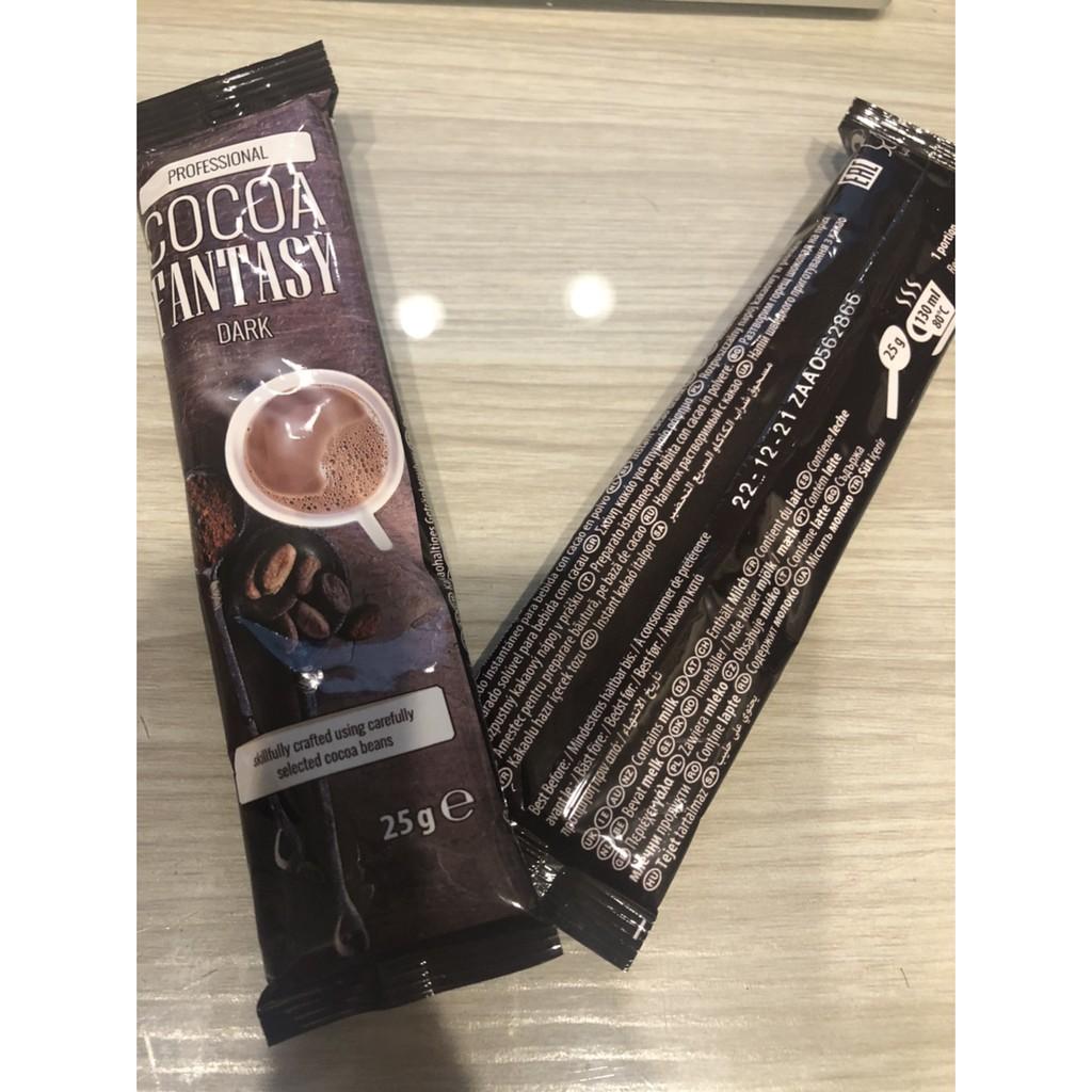 德代購  德國原裝 瑞士 COCOA FANTASY 巧克力粉  可可粉 濃醇27%巧克力粉 10小包 /組
