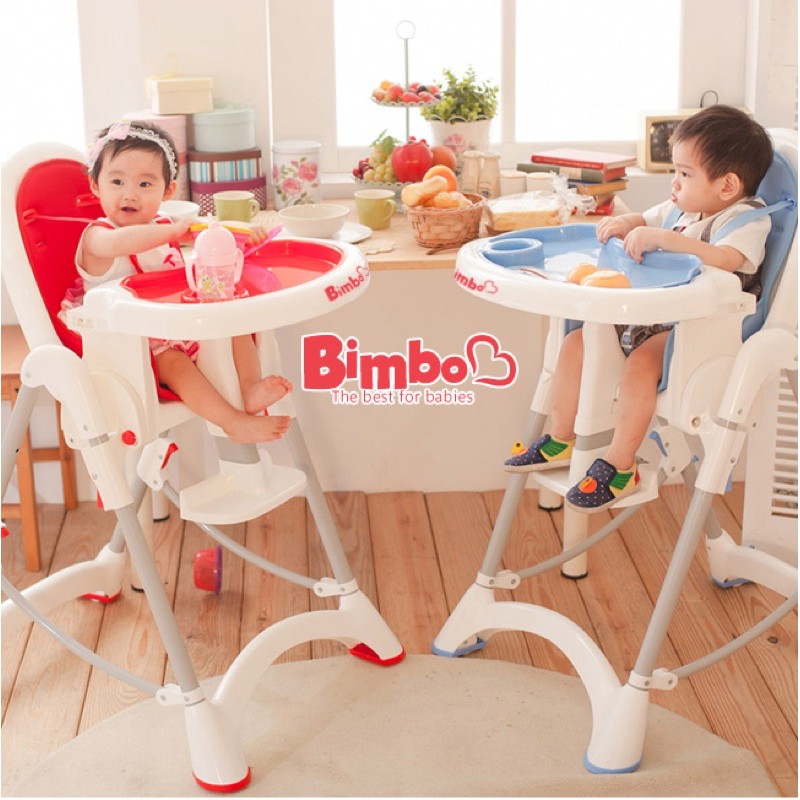 Bimbo  紅色安全餐椅