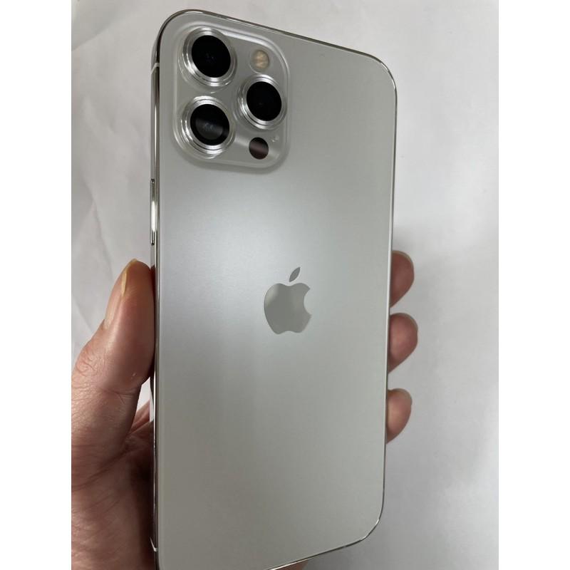 iphone 12 pro max 白銀色 128G 保固至今年12月中