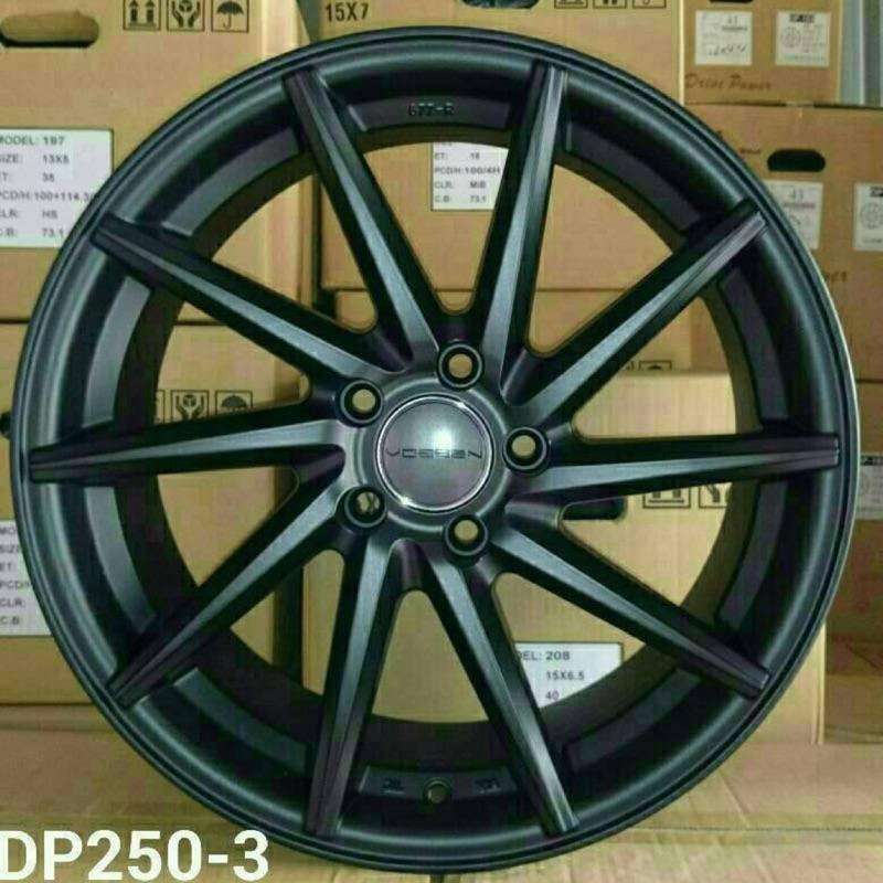 類VOSSEN CVT 18吋5*108平光黑鋁圈 其他尺寸歡迎洽詢 價格標示88非實際售價 洽詢優惠中
