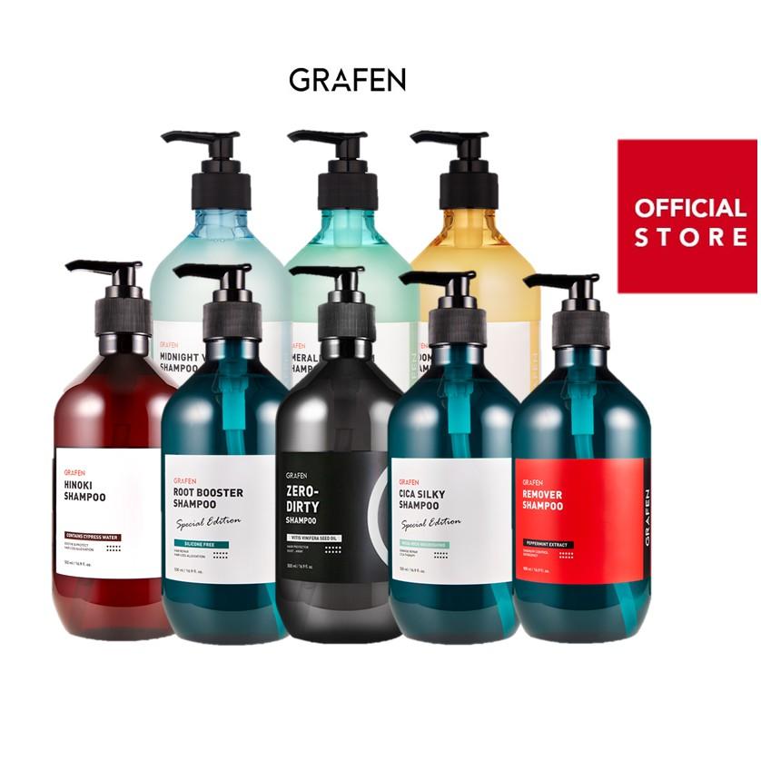 [Grafen-韓國] 热销洗髮水集合 Best Shampoo 500ml