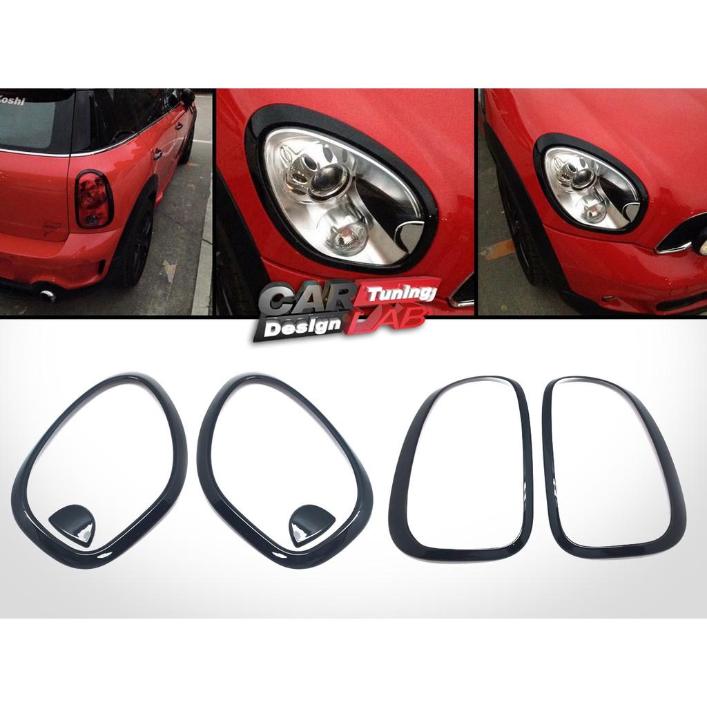 2010-2016 迷你Mini Cooper Countryman R60 黑亮前後大燈框 尾燈