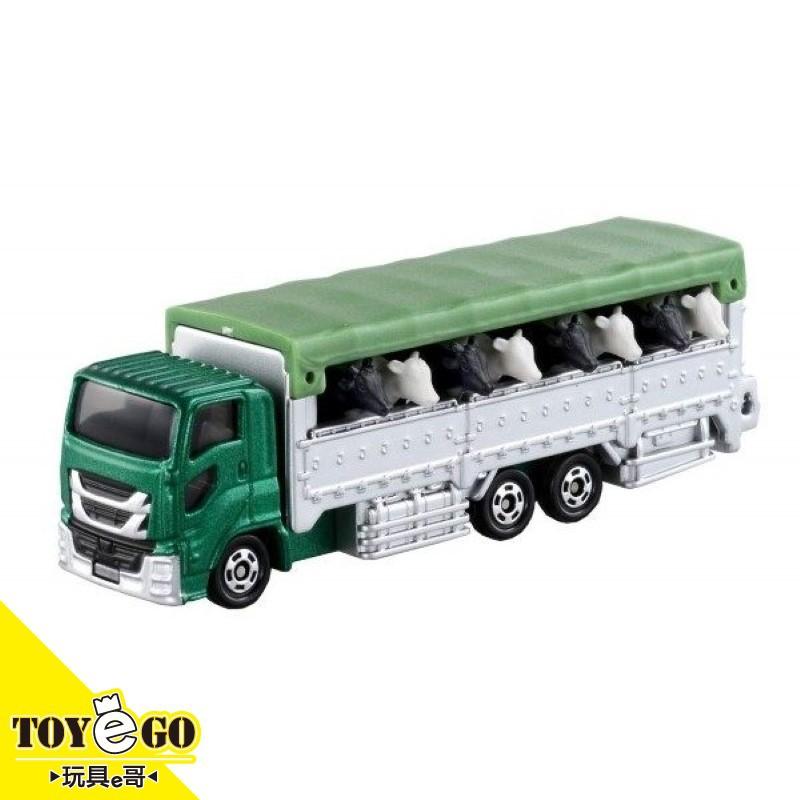 TOMICA #139 動物運輸車 內附黑白牛 玩具e哥 79832