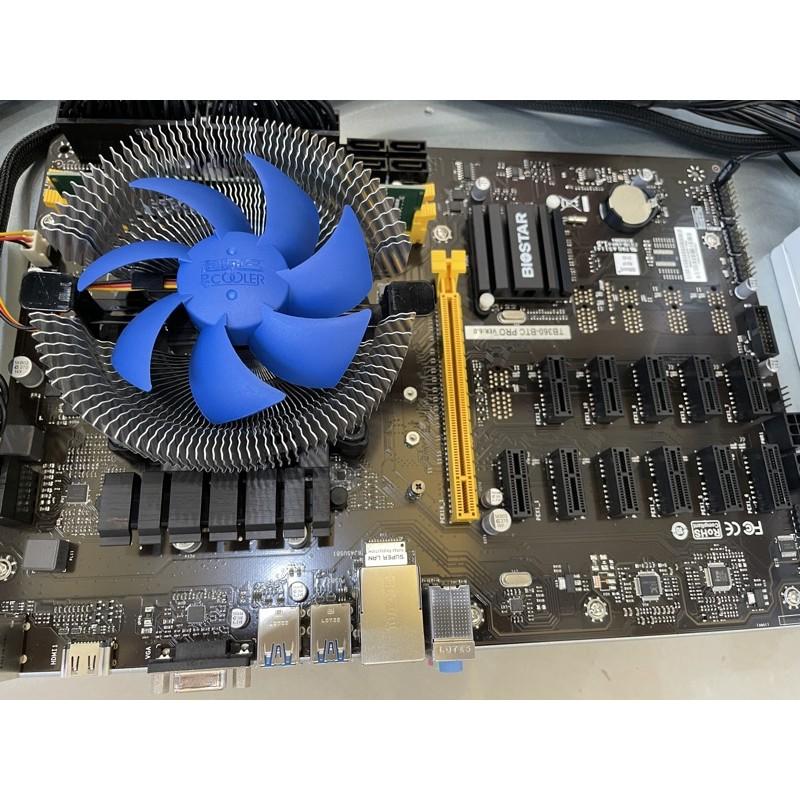 映泰 TB360 -BTC PRO加CPU G4930 含風扇 礦板 主機板