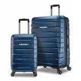 可刷卡 現貨快速出貨 Samsonite 27''+20''行李箱(2入組)藍色全新 COSTCO好市多正品