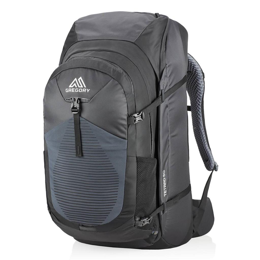 Gregory 美國 TETRAD 60L旅行背包 15吋筆電子母後背包 像素黑 GG121119-5466 綠野山房