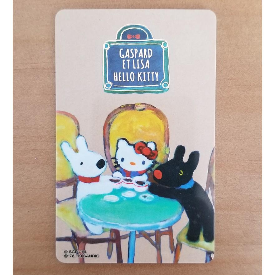 Hello Kitty 麗莎和卡斯柏 下午茶 麵包店 新朋友 悠遊卡 熱銷中