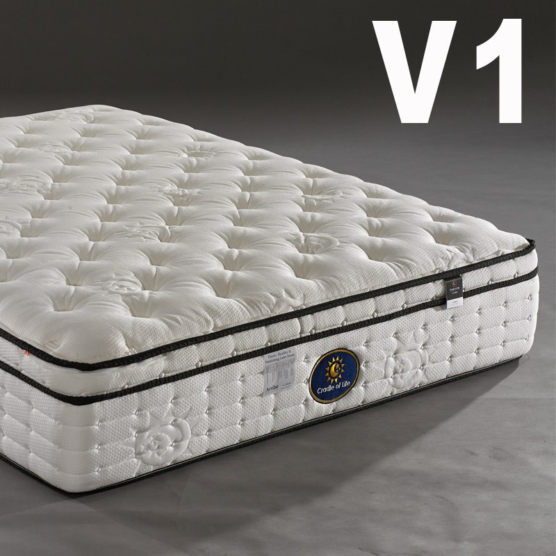 生活搖籃床墊 專屬天使系列 V1 三線乳膠獨立筒床墊