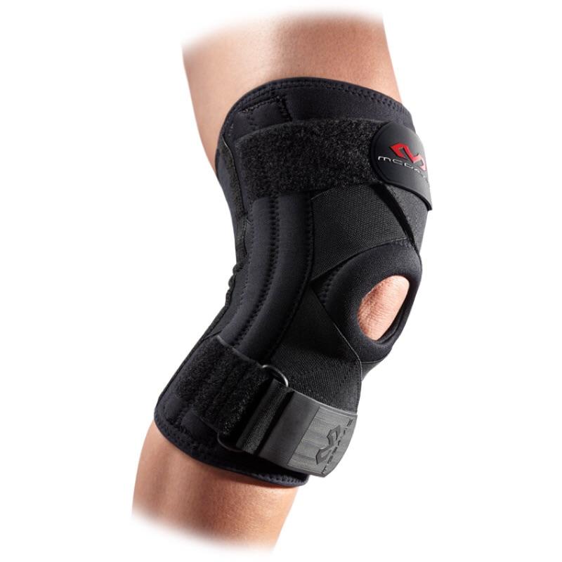 【NoFake】McDavid 麥大衛護具 醫療級 膝關節韌帶專用護膝 一入 黑色-M425