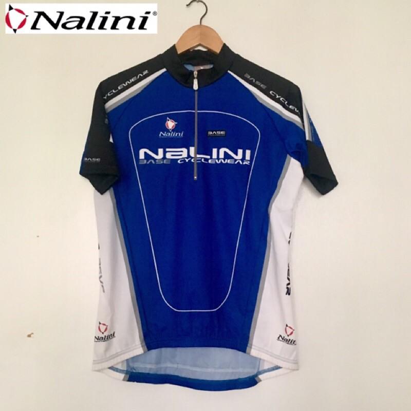 拜客先生-【NALINI】BASIC 零碼庫存品出清 短袖車衣 藍M/L