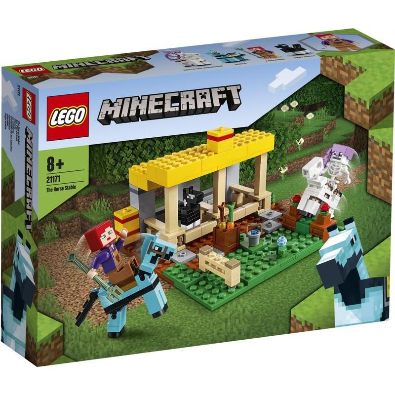 樂高 LEGO 積木 馬廄 Minecraft 21171 現貨 代理