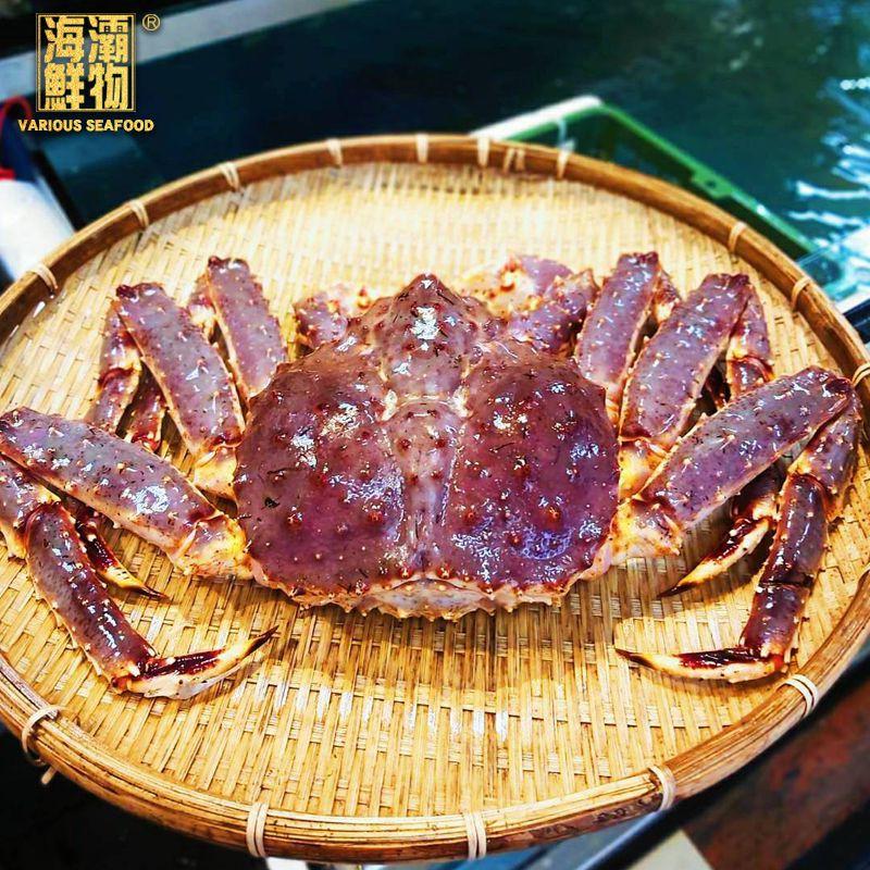 【海灞鮮物】活體-北海道巨霸帝王蟹【4000g/隻】
