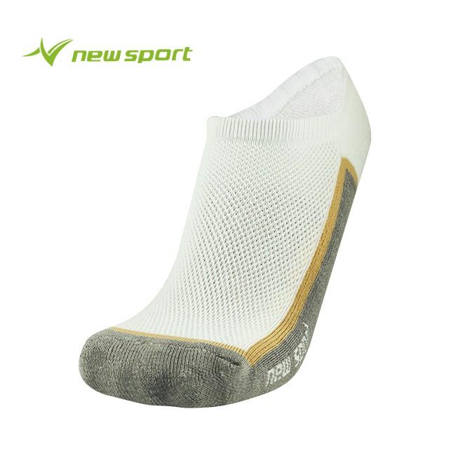 【多雙優惠】new sport 竹炭科技抗菌除臭系列 白灰 襪子 男襪 女襪 短襪 運動 透氣