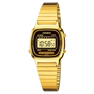 歐美代購代購 CASIO 卡西歐 熱銷復古小金錶×黑框 方形數位電子錶 LA-670WGA LA680WGA-電子錶 新北市