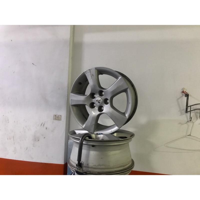 三菱原廠17吋鋁圈 一個五百