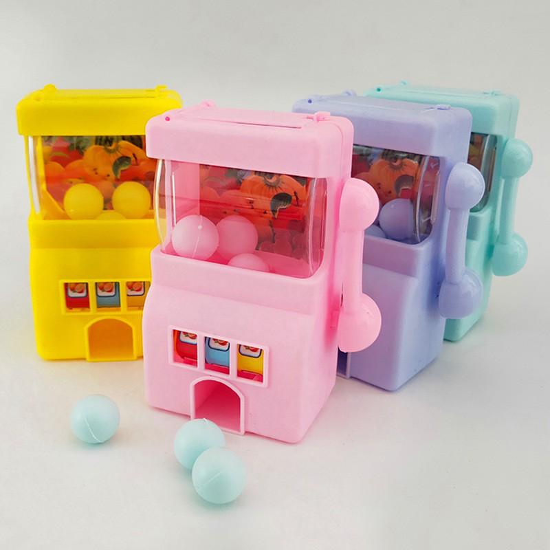 【優樂美玩具】迷你兒童游戲機玩具 新奇特搖獎機 創意禮品贈品搖搖樂地攤玩具