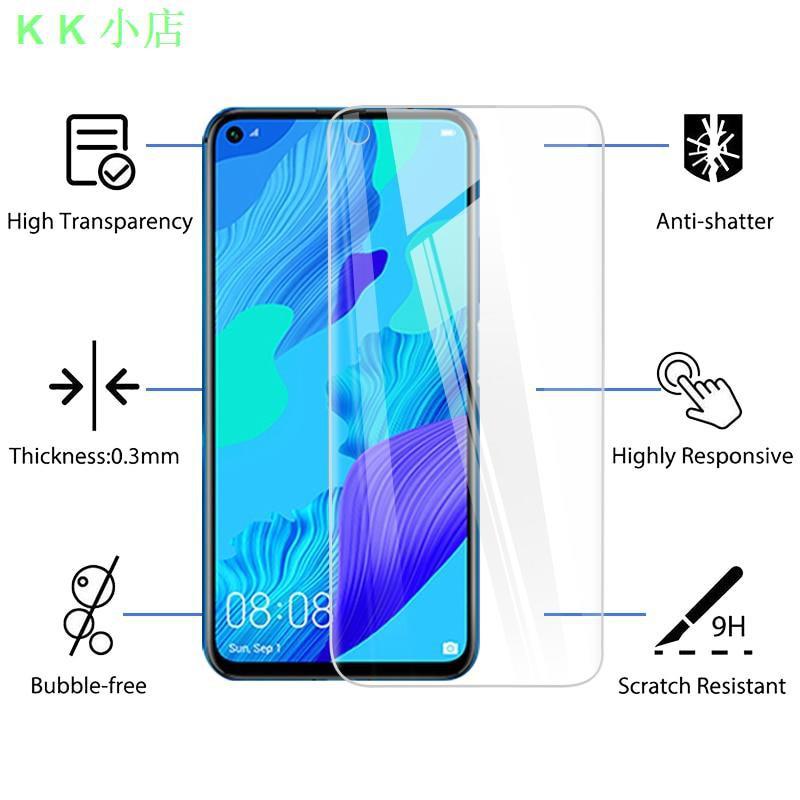 ♞✲۩2PCS鋼化玻璃 屏幕保護膜,適用於Huawei Nova 7se 5 T huawei Nova 7 se 5t