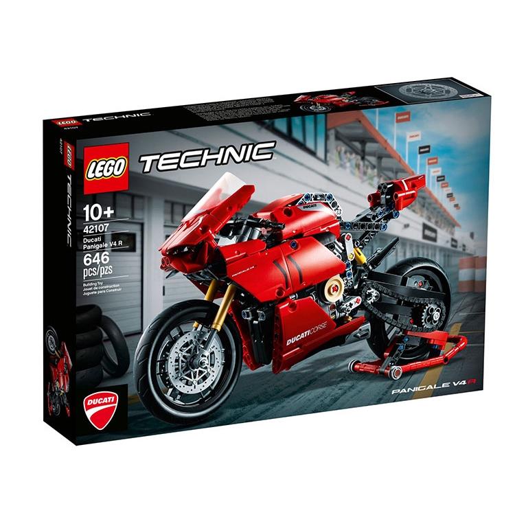 LEGO 42107 Ducati Panigale V4 R 動力科技系列 【必買站】樂高盒組
