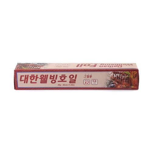 [韓國直送]大韓 Wellbeing 烤箱專用鋁箔紙