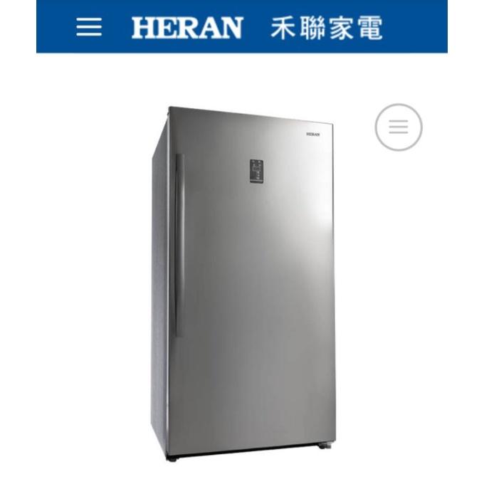 台南 禾聯 冷凍櫃 HFZ-B5011F 500L HERAN 直立式 冷凍櫃 自動除霜 31900鎧哥冷氣