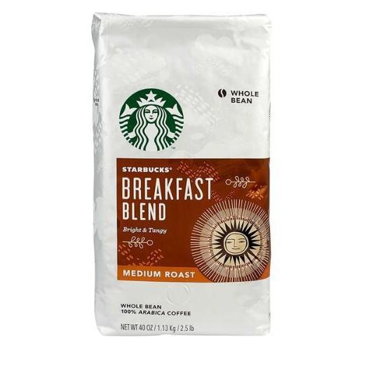 STARBUCKS BREAKFAST BLEND 早餐綜合咖啡豆每包1.13公斤 C614575 促銷到1月15日