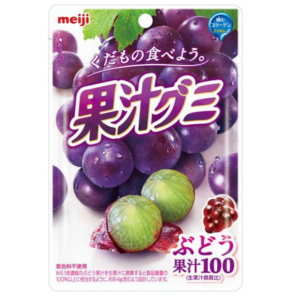 meiji明治果汁QQ軟糖-葡萄【康是美】