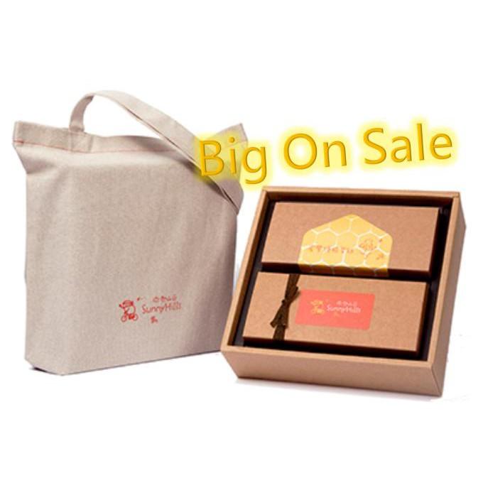 [微熱山丘] 微熱山丘鳳梨酥脆蛋糕禮盒 10個鳳梨酥 12片脆蛋糕