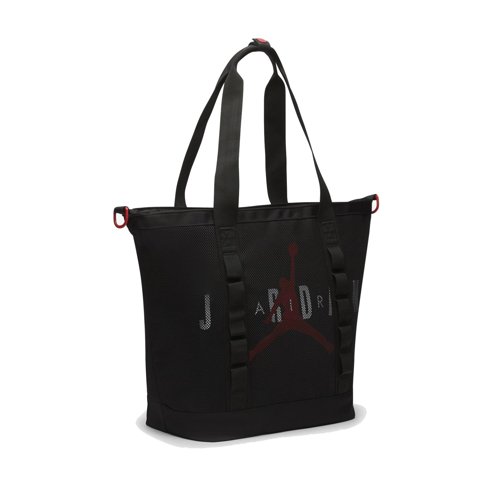 Nike 側背包 Jordan 2 Way Bag 黑 紅 男女款 喬丹 兩用【ACS】 JD2113018AD-001