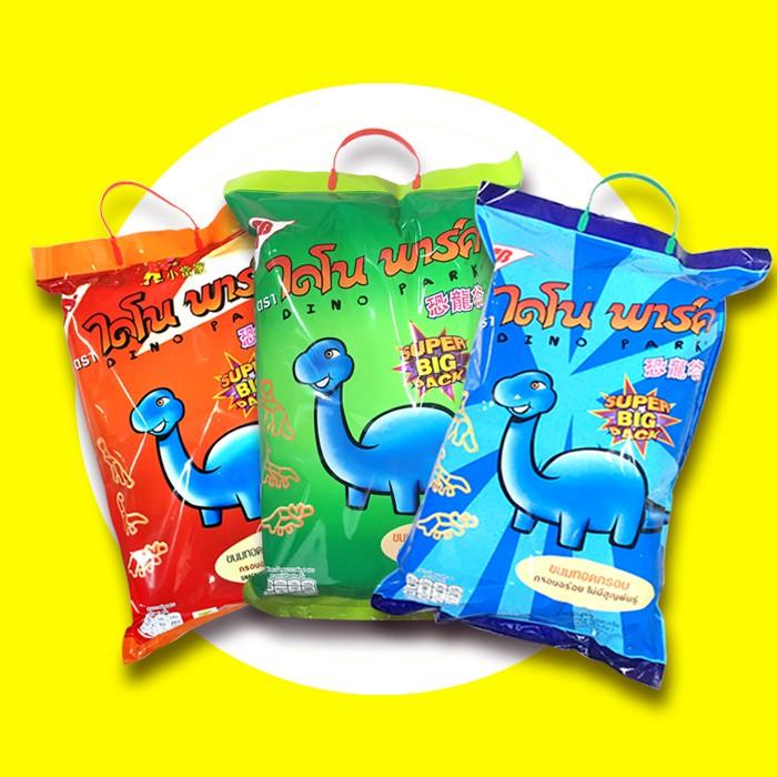 泰國 SB 恐龍造型餅乾 烤蝦-紅/海鮮-綠/墨魚-藍 300g (6入/袋) 餅乾 造型 零食 可愛 只能宅配 (即期
