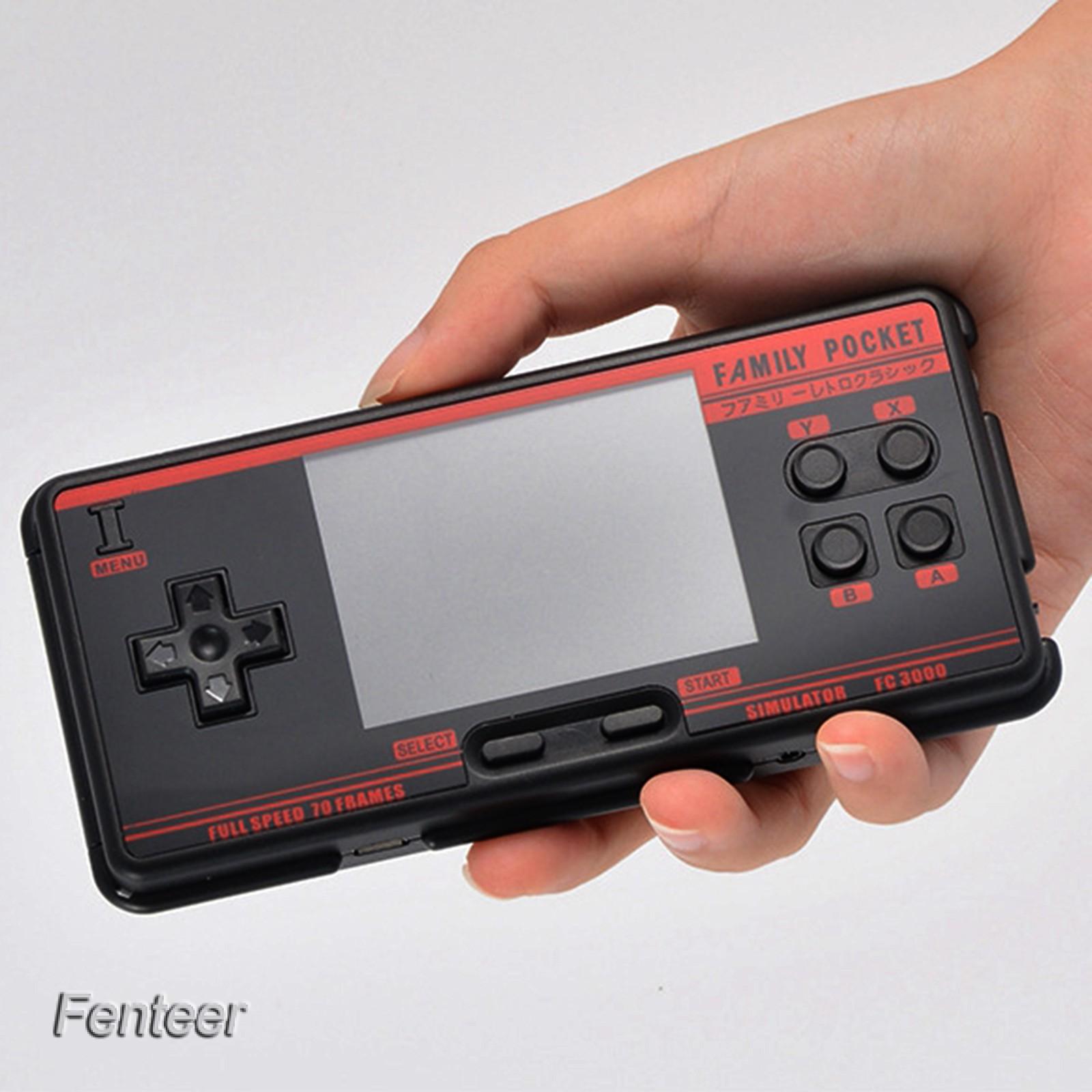 "[Fenteer] Fc3000 掌上游戲機 3\ ""高清屏幕視頻經典遊戲機"