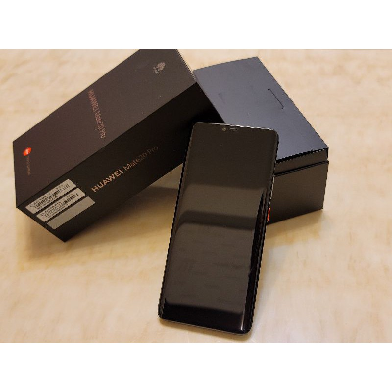 <<優質二手>>華為Huawei Mate20 pro黑/9成新/mate20pro