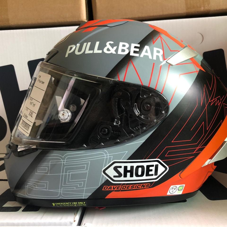 【新品爆款】SHOEI x14紅牛灰紅螞蟻頭盔四季男女通用頂配版摩托車全盔安全帽