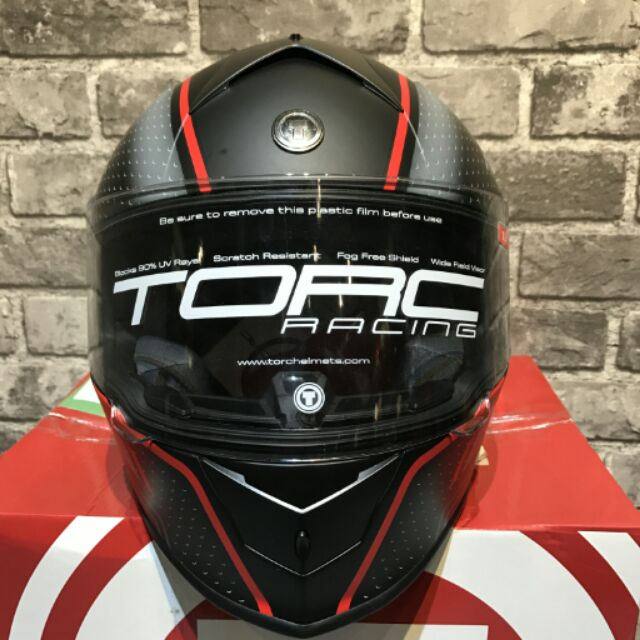 【桃園萊特先生】TORC T-14 頭槌帽 全罩安全帽 內墨片