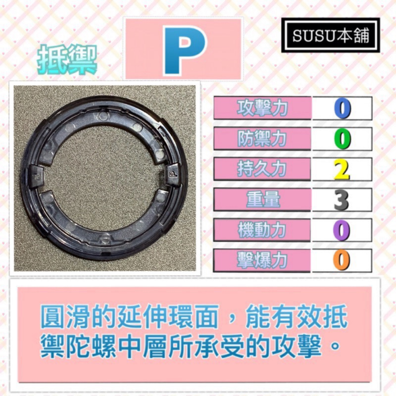 【Susu本舖】戰鬥陀螺 爆裂世代P環 戰環拆售系列 B132 B140 B148 B124