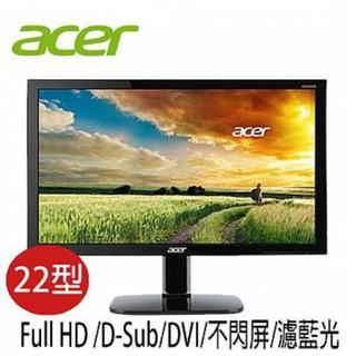 ACER宏碁 KA220HQ 22型 FullHD 護眼低藍光 液晶螢幕 桃園市
