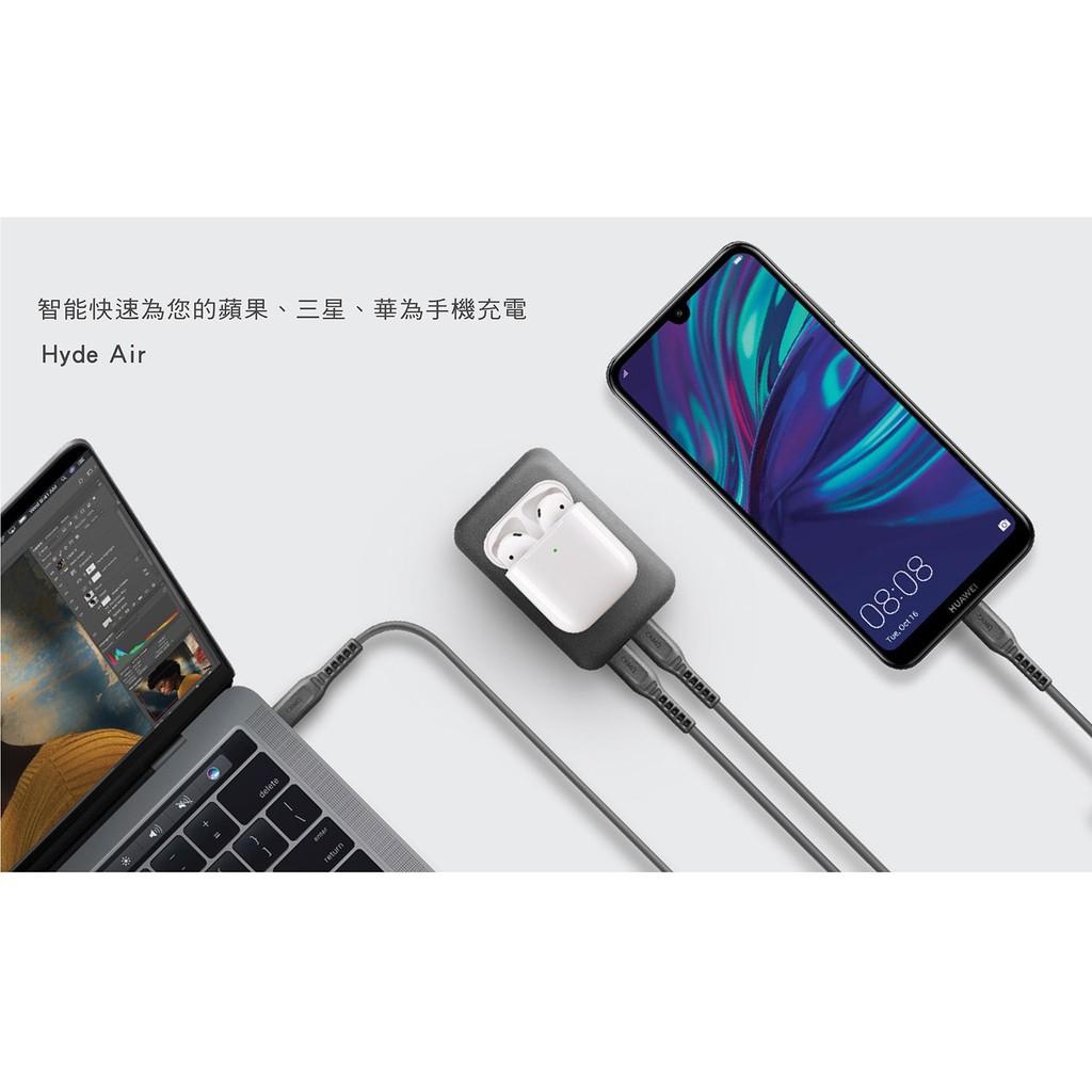 特價UNIQ|HydeAir 10000mAh 無線快充帶支架螢幕行動電源 30分鐘快速充電50%  移動電源