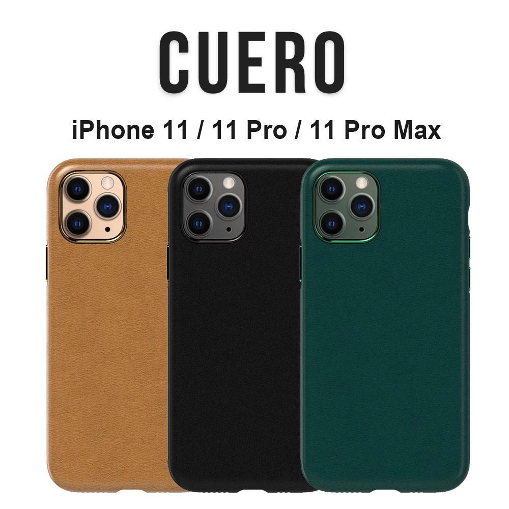 UNIU CUERO 皮革保護殼 iPhone11/11 Pro/11 Pro Max 手機殼 防滑防摔同原廠皮革簡約
