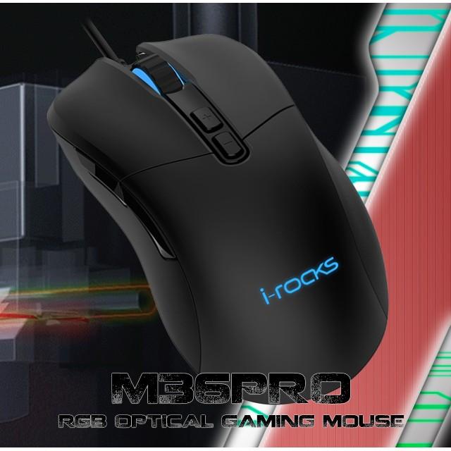 艾芮克 I-ROCKS M36 PRO RGB 光磁微動滑鼠