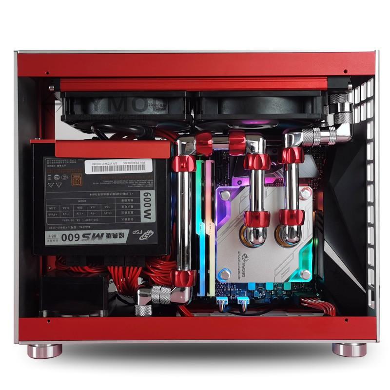 T03迷你ITX i9 10900K RTX3080 3070銅管分體水冷DIY組裝電腦主機#東金靚淘運動