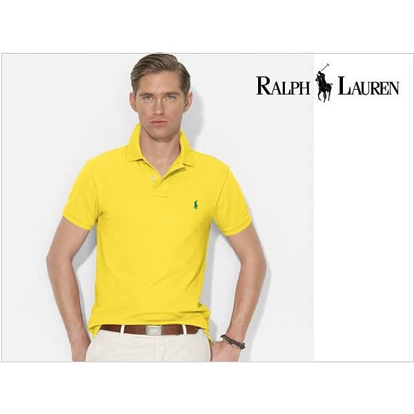 現貨Polo Ralph Lauren 短袖 polo衫 男款 黃色【美國區140730p02】原價1980