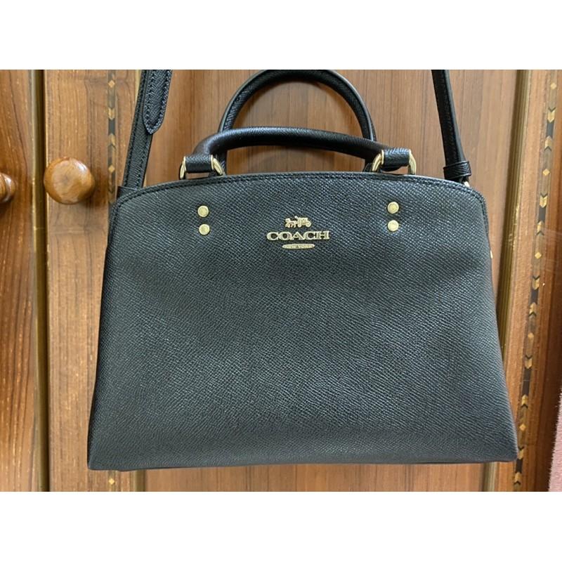 ✨二手✨coach 新款小黛妃包 手提包 側背包 (黑色)