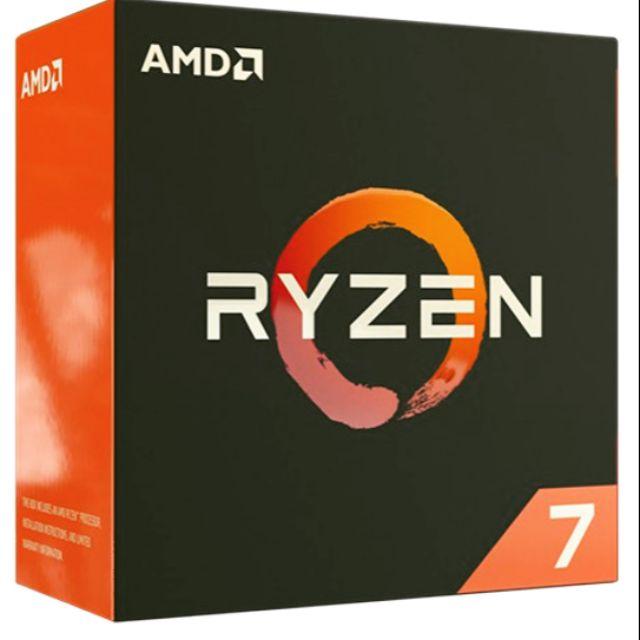 AMD Ryzen R7 1700 1700x 1800x  2700 2700x 搭主機板另有優惠
