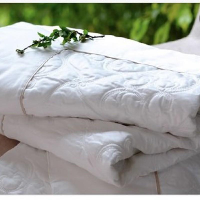 寬庭 歐悅純棉刺繡四季蓋毯(雙人加大款)