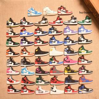 Br + 6cm Air Jordan Aj1 運動鞋吊墜鑰匙扣鑰匙圈夾汽車包錢包裝飾