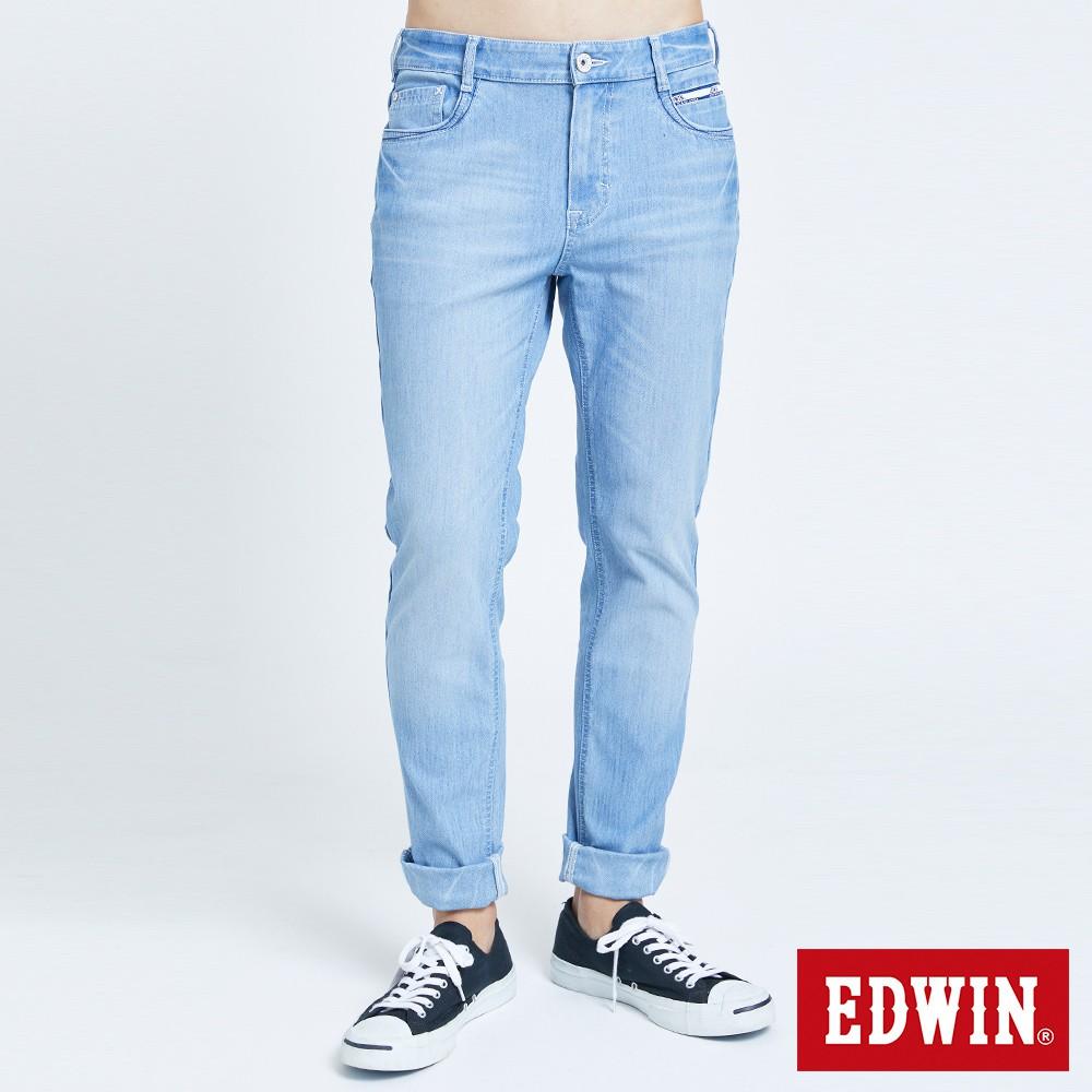 EDWUN 迦績EJ2超彈窄直筒牛仔褲(拔淺藍)-男款